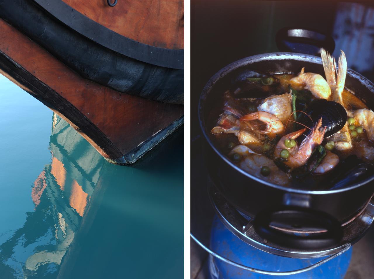 Disegno la cucina del corriere : Cibo da porto | Michele L Mulas
